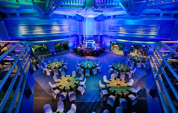 Unexpected Event Venue: The Living Seas Pavilion | Disney Meetings Blog