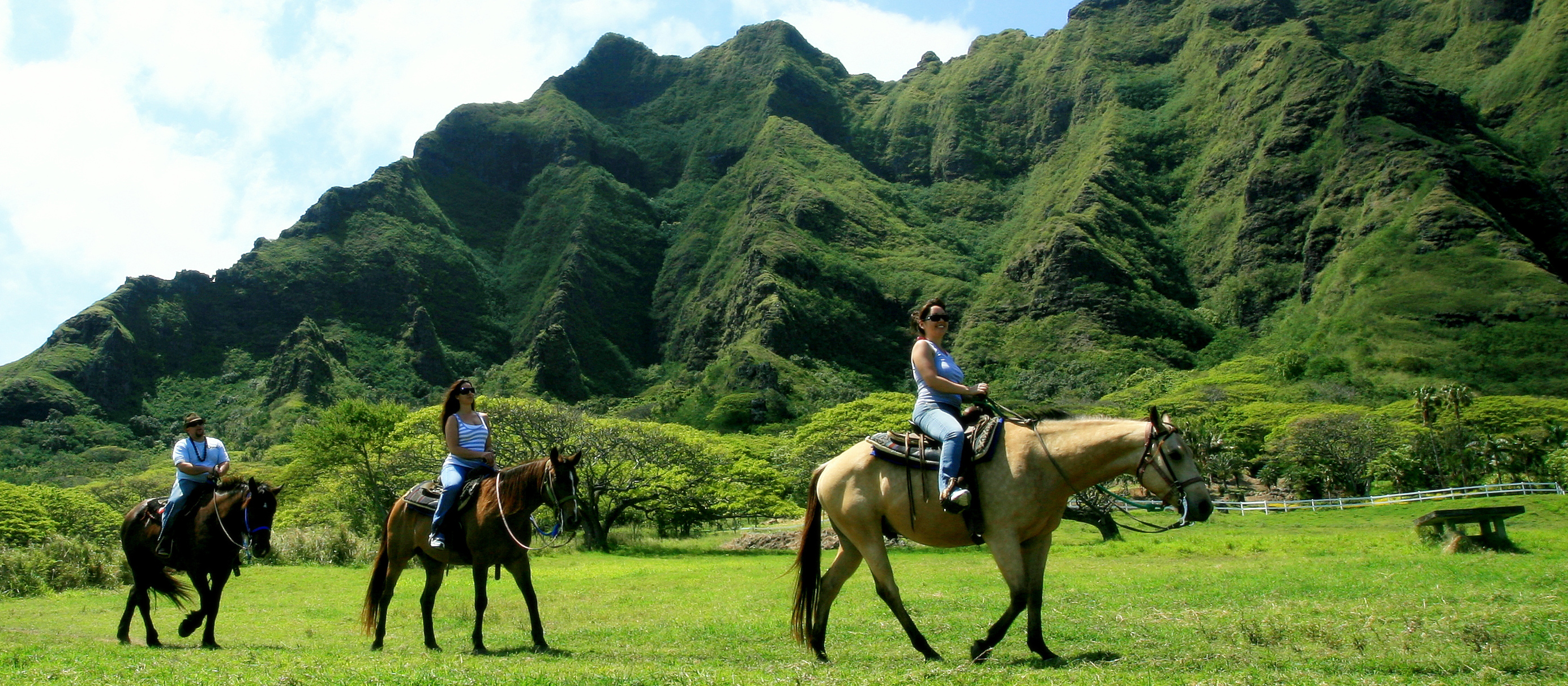 Kualoa Ranch Private Beach and Horseback Tour | Aulani ...