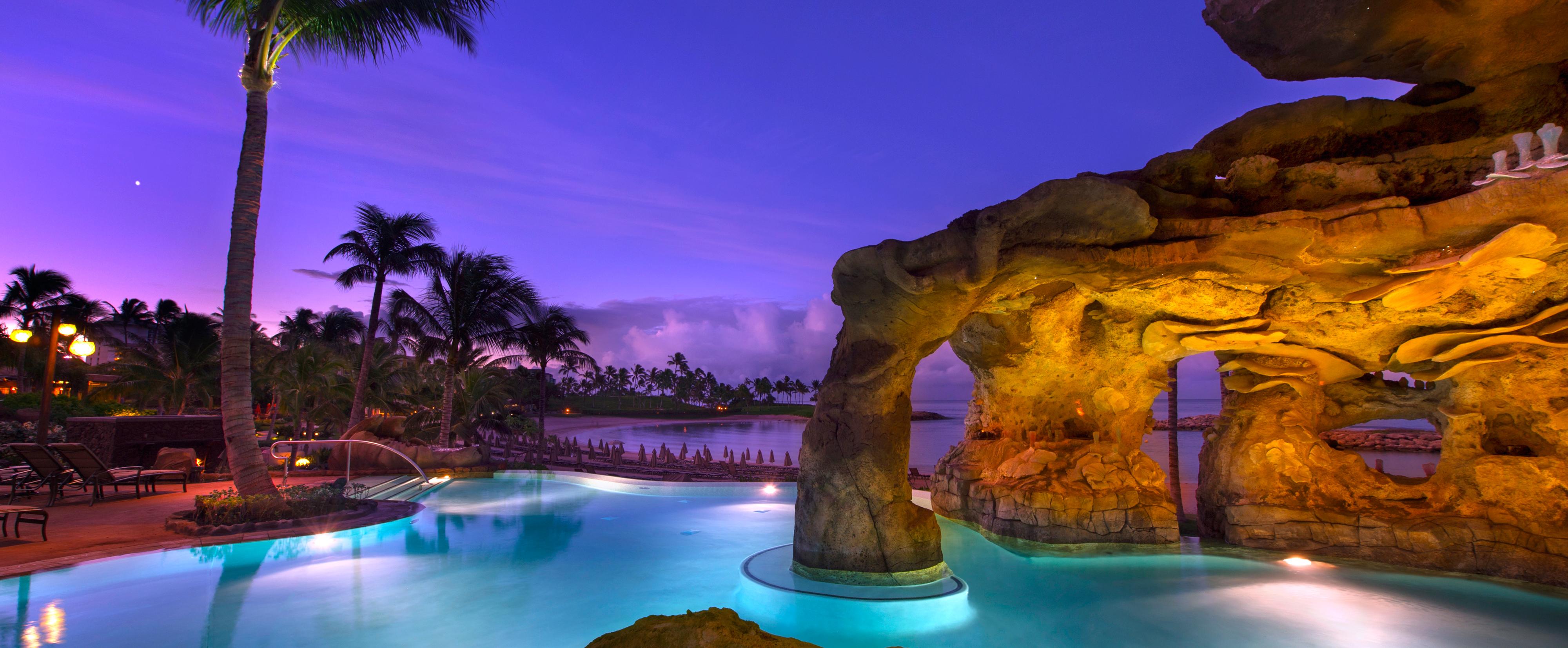 Ka Maka Grotto Infinity Pool Aulani Hawaii Resort Amp Spa