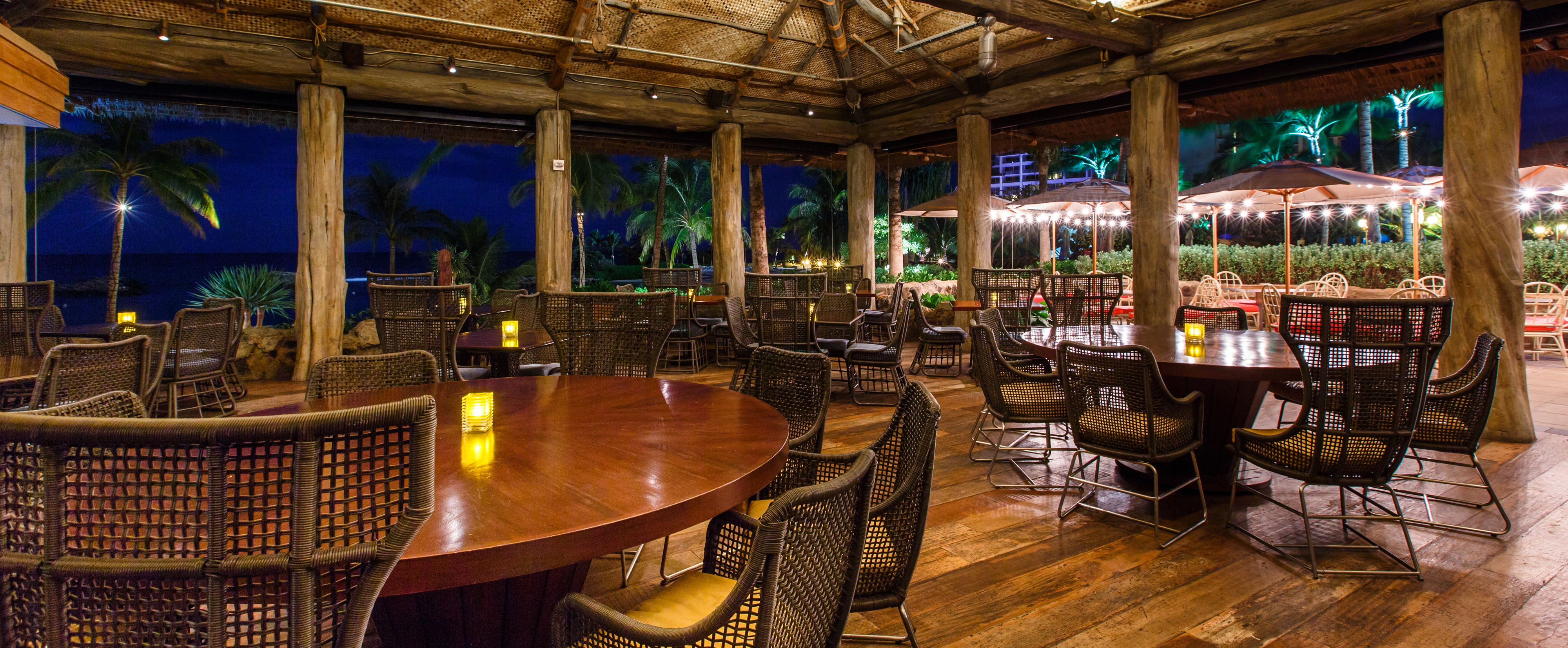 Fancy Restaurant Background amaama hawaiian cuisine restaurant | aulani hawaii resort & spa