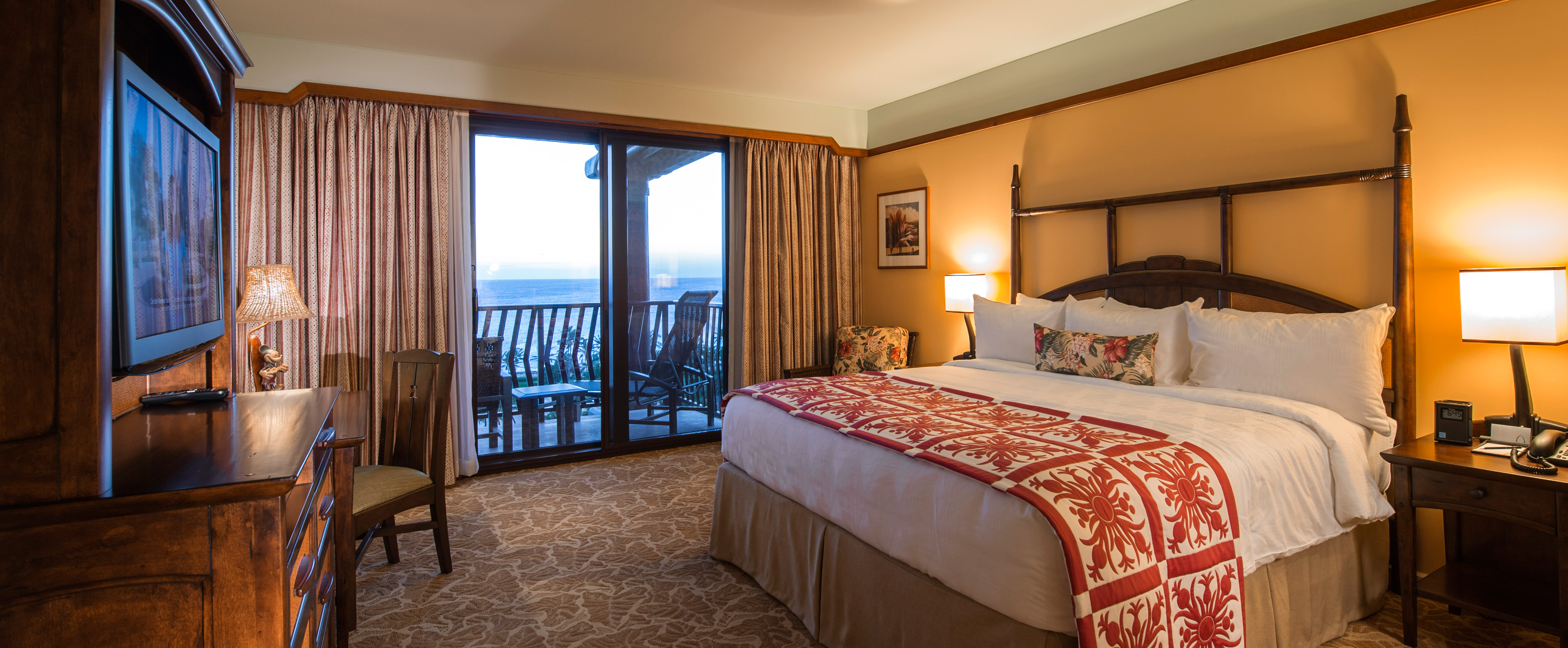 Three bedroom grand villa aulani hawaii resort spa for Three bed