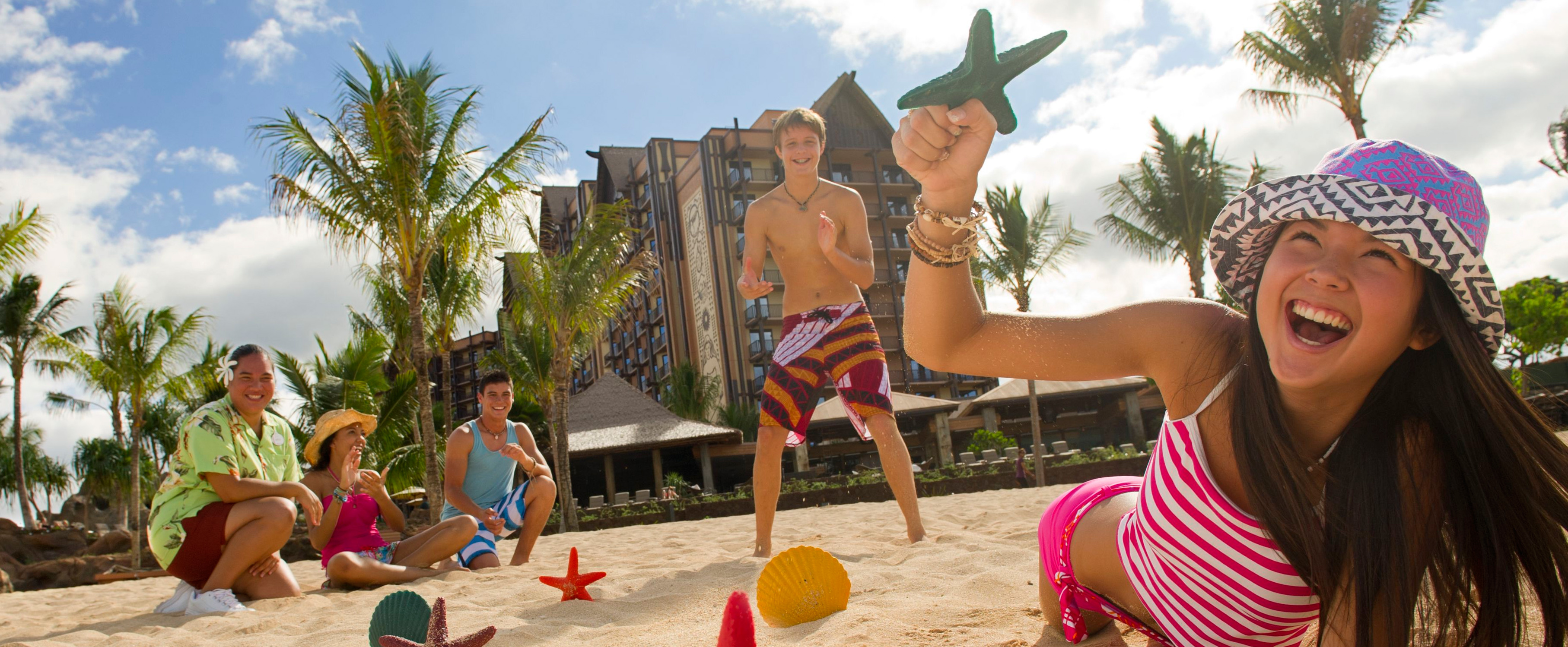 Aulani Kids Beach Activity