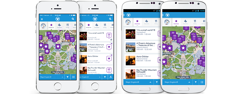 My disney experience mobile app walt disney world resort Magic app